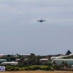 Royal Air Force C17 Emergency Plane Landing Bermuda, May 11 2014-8