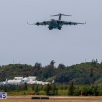 Royal Air Force C17 Emergency Plane Landing Bermuda, May 11 2014-9