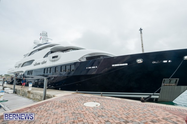 marth ann super yacht in Bermuda 2014