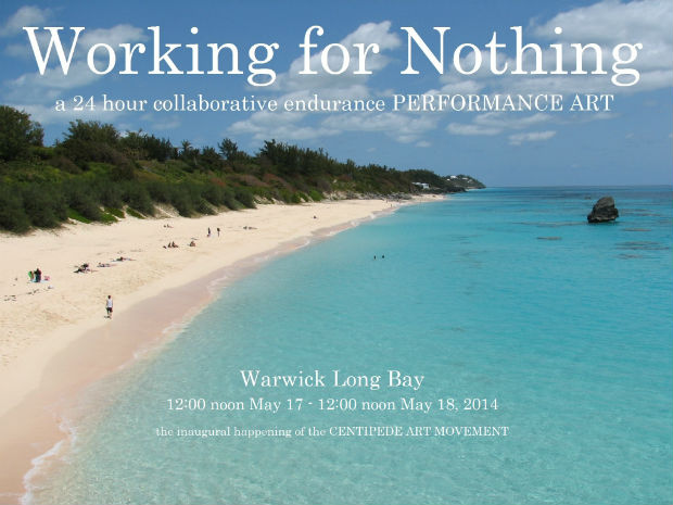 working for nothing flyer