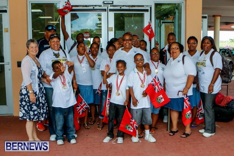 Bermuda Special Olympians, June 14 2014 (1)