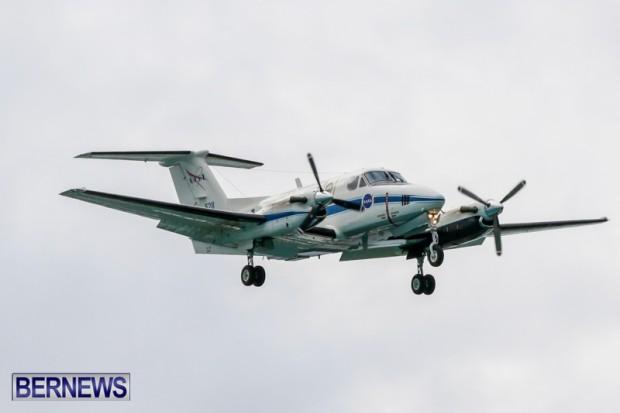 NASA Plane In Bermuda, June 14 2014-1