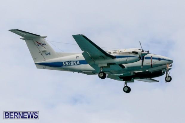 NASA Plane In Bermuda, June 14 2014-2