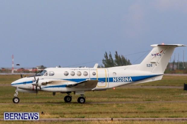 NASA Plane In Bermuda, June 14 2014-4