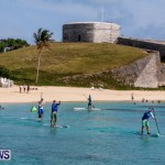 Paddleboarding at Fort St Catherine Beach Bermuda, June 21 2014-2