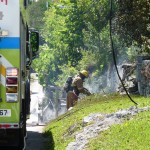 Paget Fire Bermuda, June 27 2014 (2)