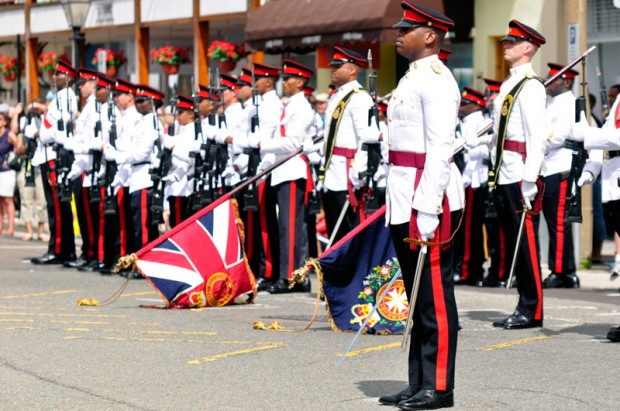 Queens Birthday Parade Bermuda, June 14 2014-17