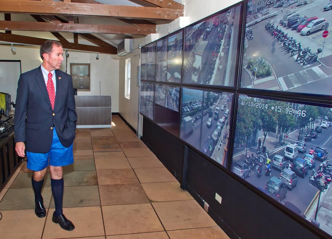 Bermuda CCTV set up July 14 (1)