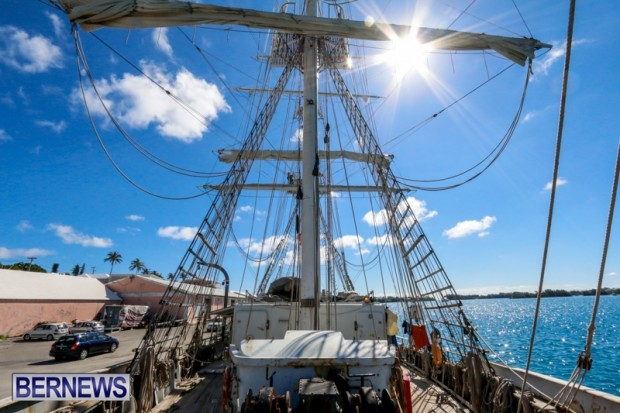 TS Lord Nelson Training Tall Ship Bermuda, July 20 2014-14