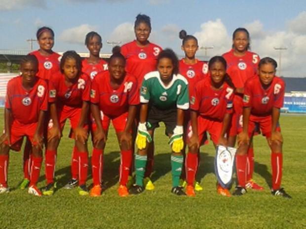 bermuda u15 girls football team aug 14