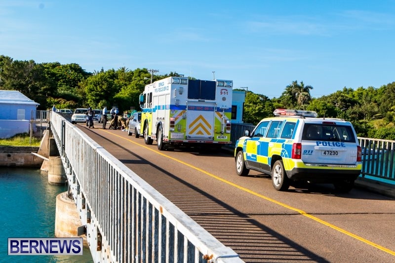 Bike Accident Bermuda, September 6 2014-1