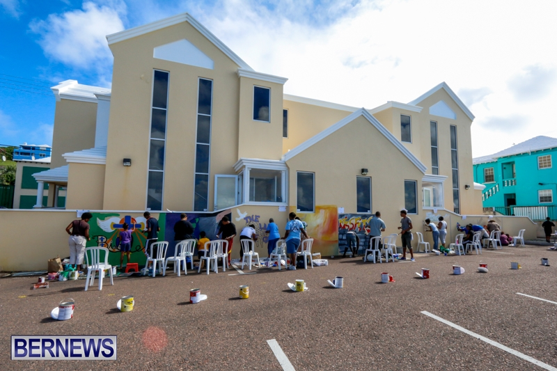 Gospel Graffiti Bermuda, September 13 2014-18