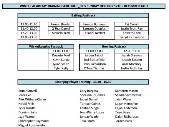 BCB Schedule 2014