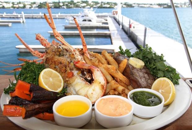 Bermuda 1609 Lobster Feast 2014