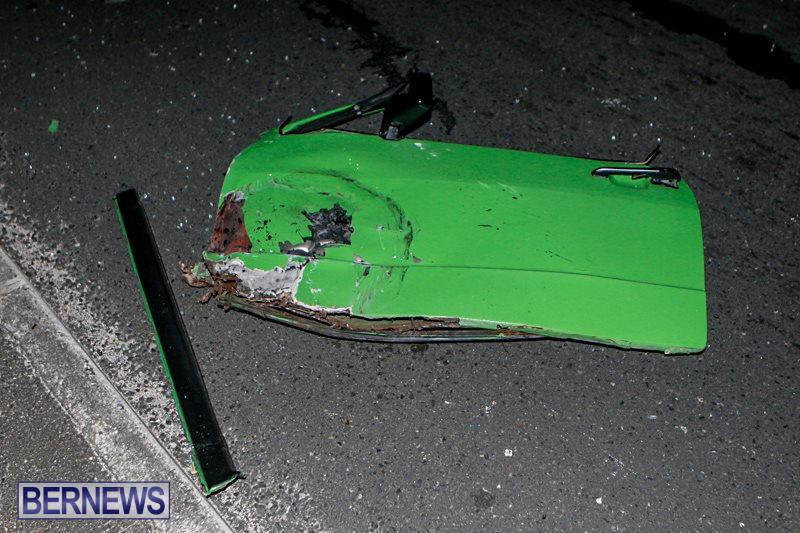 Car Accident Bermuda, October 9 2014-10