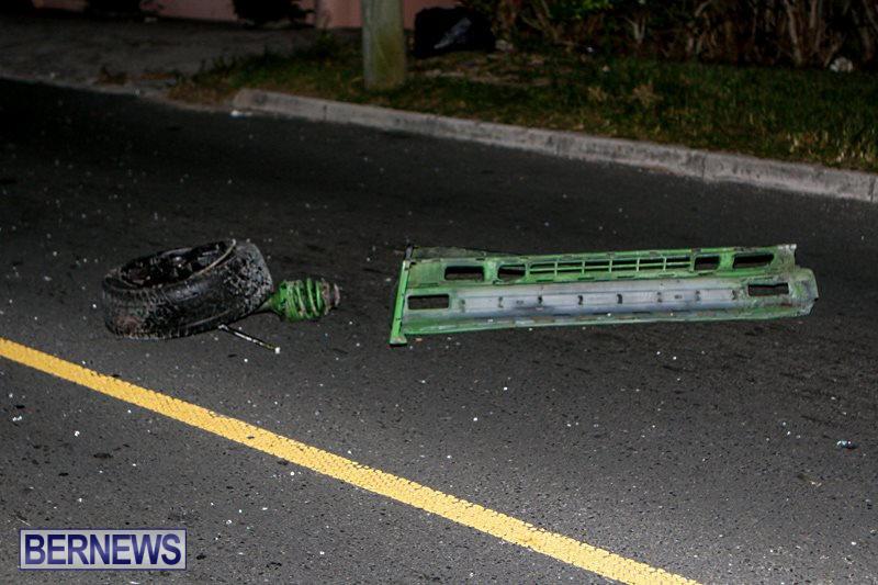 Car Accident Bermuda, October 9 2014-11