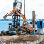 Excavator Removed From Airport Dump Waters Bermuda, October 7 2014-10