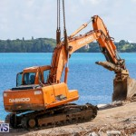 Excavator Removed From Airport Dump Waters Bermuda, October 7 2014-12