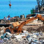 Excavator Removed From Airport Dump Waters Bermuda, October 7 2014-2