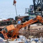 Excavator Removed From Airport Dump Waters Bermuda, October 7 2014-3