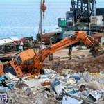 Excavator Removed From Airport Dump Waters Bermuda, October 7 2014-5