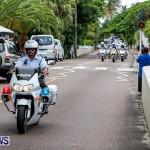 Police Motorcade Bermuda, October 1 2014-1