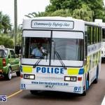Police Motorcade Bermuda, October 1 2014-10