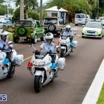 Police Motorcade Bermuda, October 1 2014-3