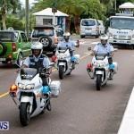 Police Motorcade Bermuda, October 1 2014-6