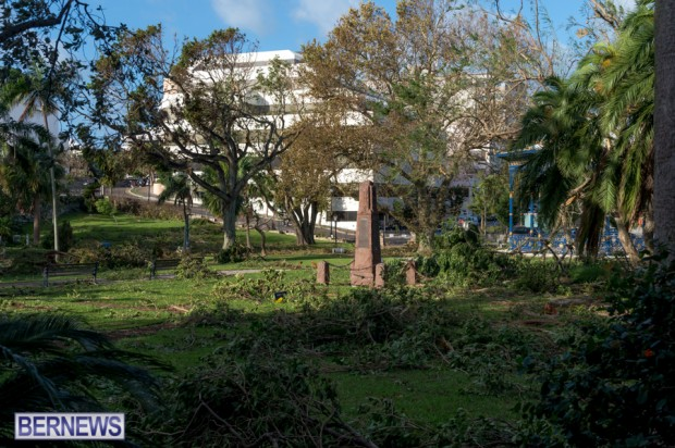Victoria Park Bermuda after Storm Fay 2014 (5)