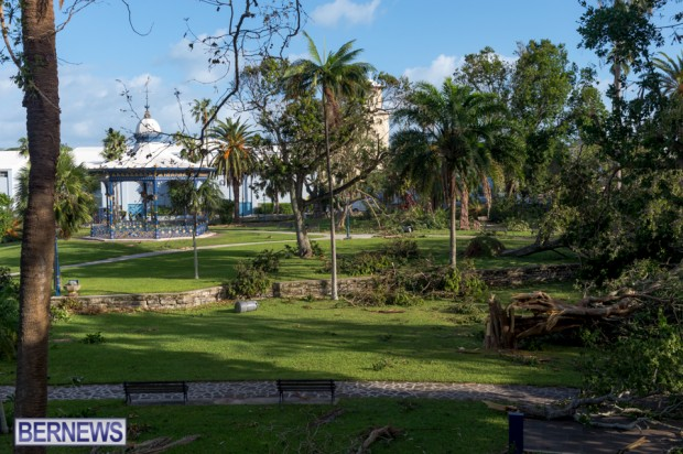 Victoria Park Bermuda after Storm Fay 2014 (8)