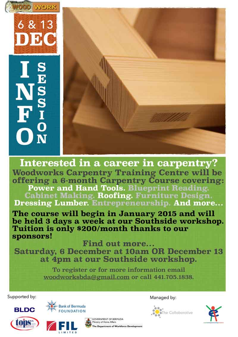 Six Month Carpentry Course To Be Offered Bernews