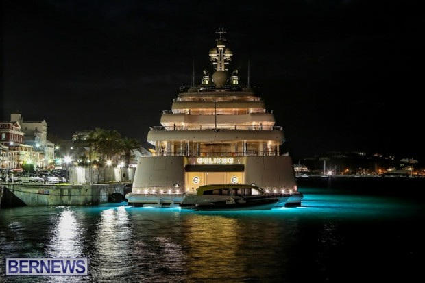 Eclipse Motor Yacht Bermuda, November 8 2014-35