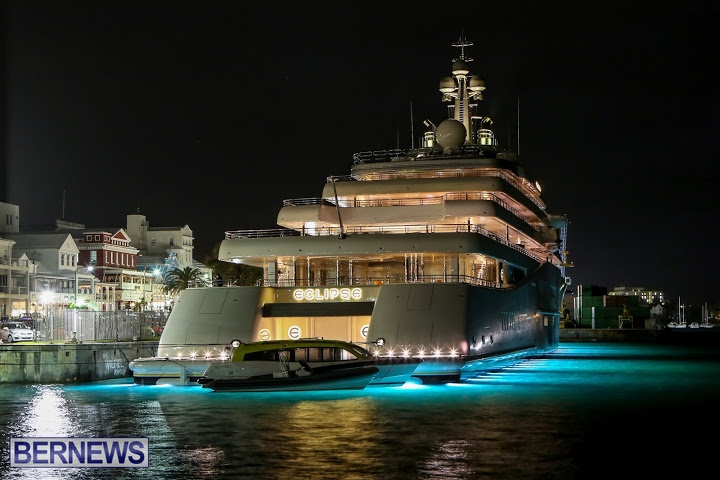 Photos Eclipse Super Yacht Back In Bermuda Bernews