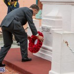 Remembrance Day Observed Bermuda, November 9 2014-18
