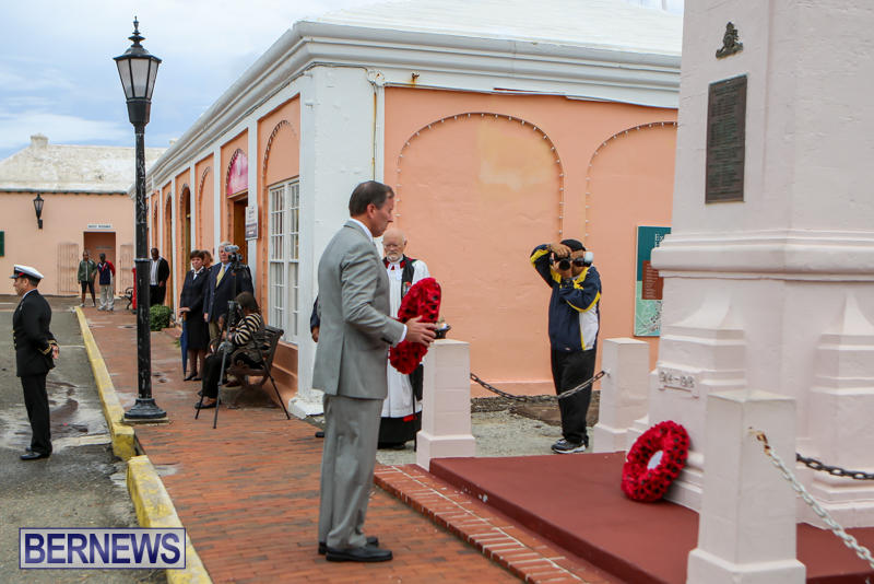 Remembrance Day Observed Bermuda, November 9 2014-20