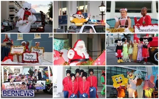 christmas santa parade wm