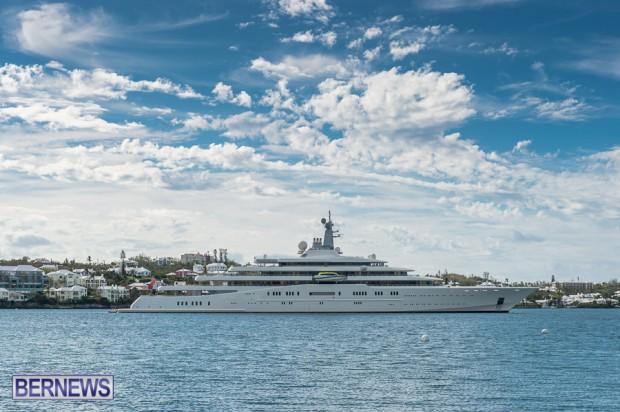 eclipse mega yacht bermuda 2014