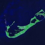 nasa photo bermuda island from space (1)