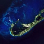 nasa photo bermuda island from space (2)