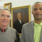 Andrew Bermingham & Minister Wayne Scott
