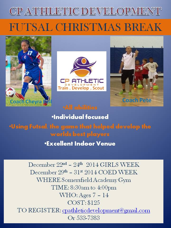CPAD Futsal ID December Camp 2014