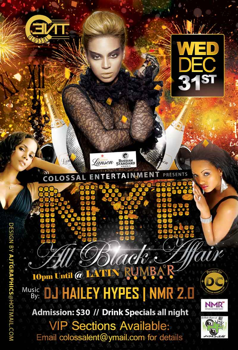 all black affair party set for new year s eve bernews