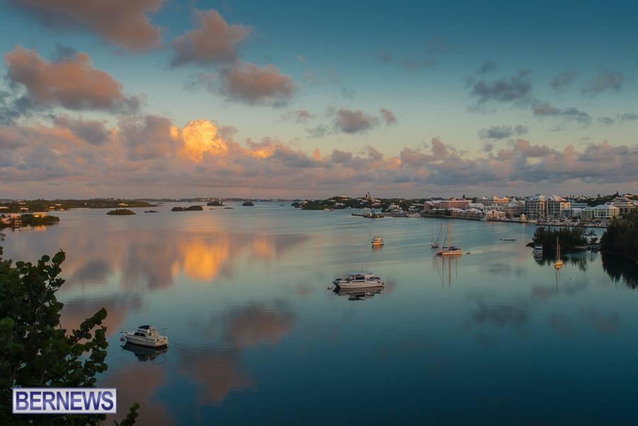 4sunrises over Hamilton Harbor Bermuda Generic