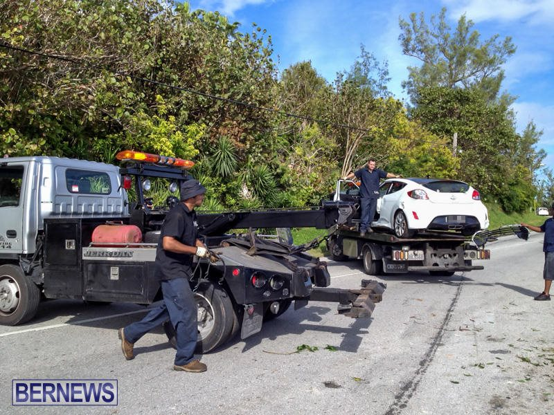 Car Accident Bermuda, January 10 2015-5