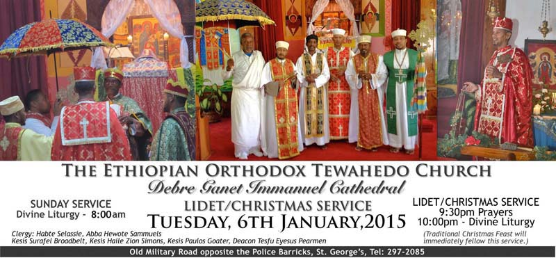 Ethiopian Orthodox To Celebrate Christmas - Bernews : Bernews
