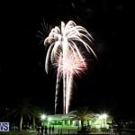 New Years Eve Fireworks Bermuda, December 31 2014-8