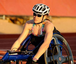 Paralympian Jessica Lewis