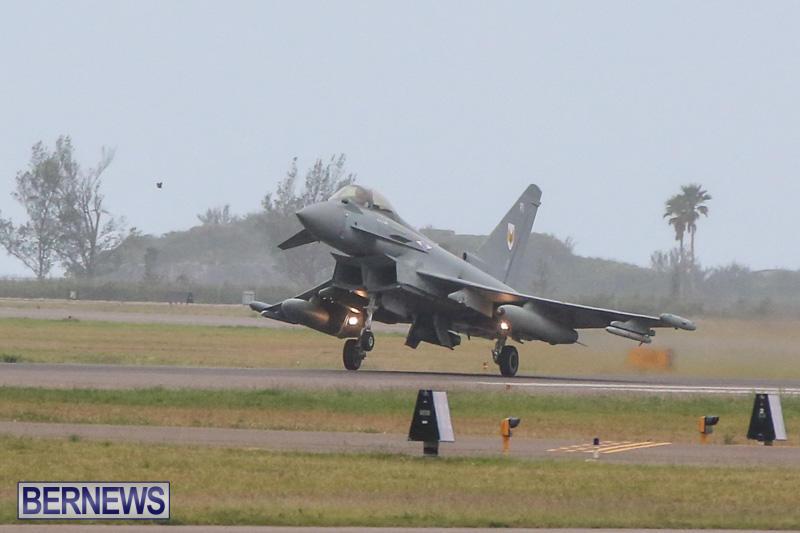 Royal-Air-Force-RAF-Typhoon-A330-200-Voyager-Bermuda-January-6-2015-1