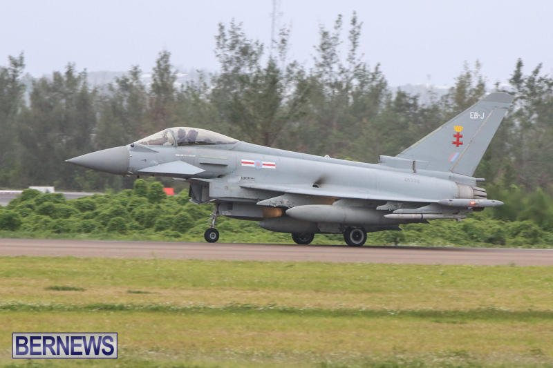 Royal-Air-Force-RAF-Typhoon-A330-200-Voyager-Bermuda-January-6-2015-11